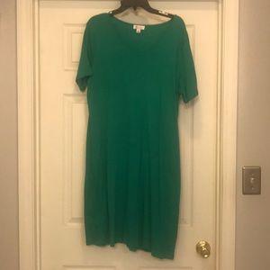 Denim & co green dress